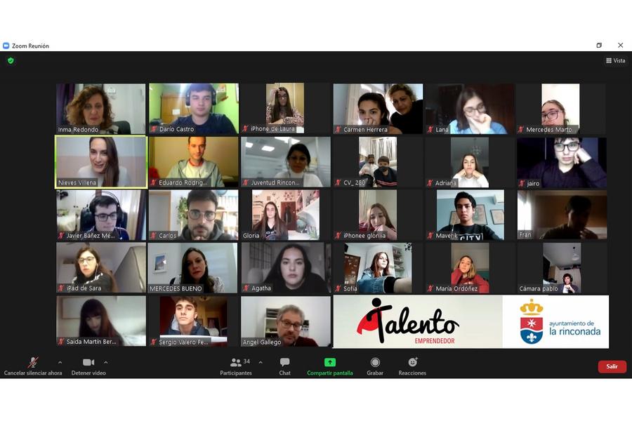«Talento Emprendedor»: el programa de autoempleo juvenil de La Rinconada