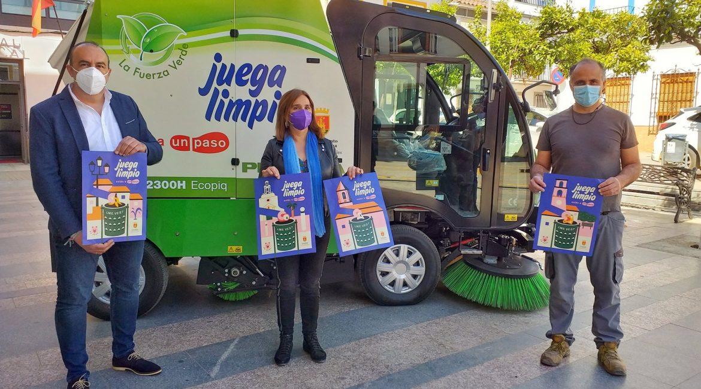 Cantillana lanza una campaña de concienciación para mantener limpias sus calles