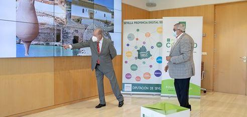 Alcolea del Río recibe 1,14 millones del Plan Contigo de Diputación de Sevilla