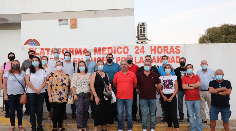 IU inicia en la Vega las Marchas en Defensa de la Sanidad Pública