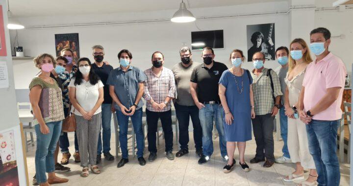 Dirigentes políticos de IU en la Vega critican los recortes sanitarios y anuncian movilizaciones